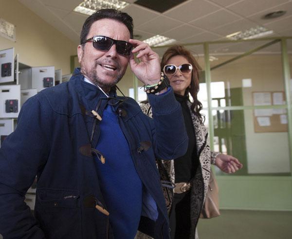 EL TORERO JOSE ORTEGA CANO Y ANA MARIA ALDON 02/03/2015 ZARAGOZA