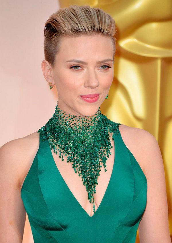 Scarlett Johansson en los Oscars 2015