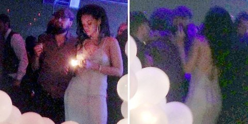 Rihanna Rihanna y Leonardo DiCaprio pillados
