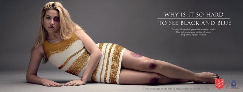 campaña vestido contra violencia de género