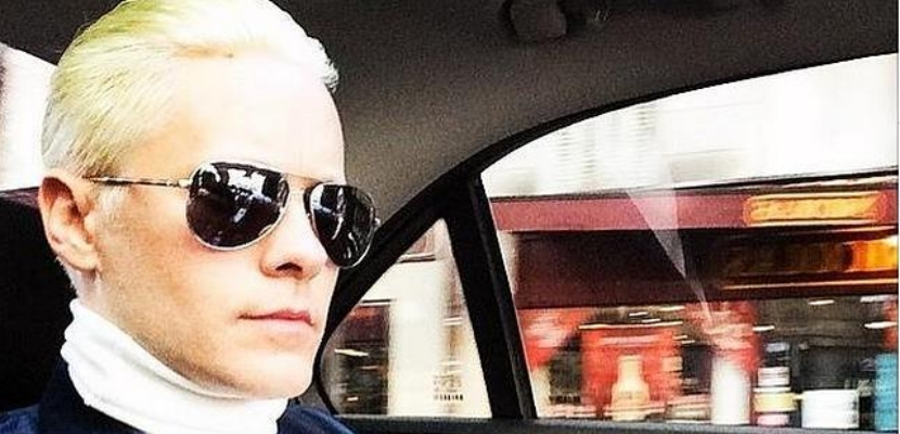 jared leto rubio Jared Leto tan rubio como Kim Kardashian