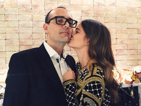 Risto Mejide y Laura Escanes. Foto Instagram